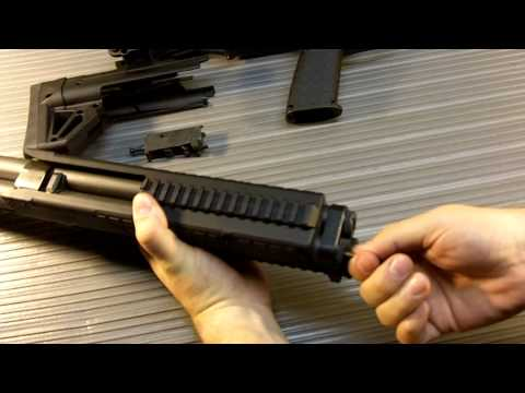 Kel-Tec KSG Shotgun Field Strip
