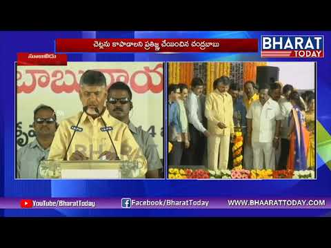 CM Chandrababu Naidu Speech in Vanam Manam Program At Nuzvid | Bharat Today