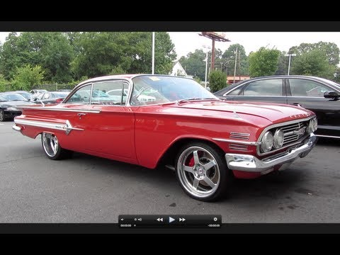 1960 Chevrolet Impala SS Start Up. Exhaust. and In Depth Tour
