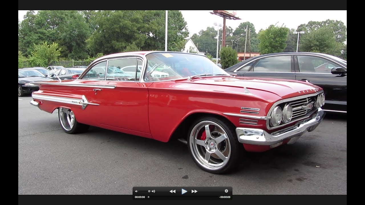1960 Chevrolet Impala Ss Start Up Exhaust And In Depth