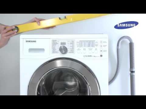 Pralki Samsung | Porady | Poziomowanie Pralki