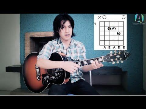 Como tocar Te Fuiste de Aqui de Reik - Tutorial Guitarra + TAB (HD)