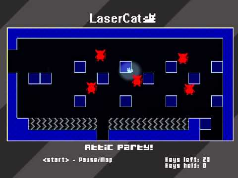 Laser Cat - Indie Royale Bundle - Quick showoff