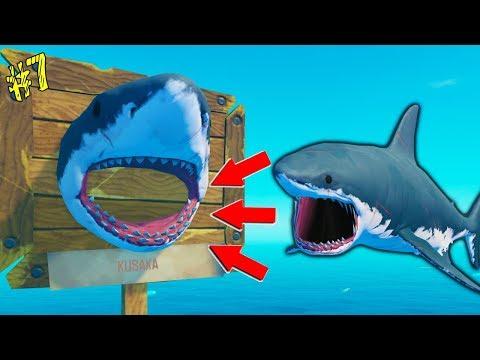 Огромный Якорь и Кусака на борту! ВЫЖИВАЕМ в ОКЕАНЕ с Cool GAMES прохождение Игры RAFT #7