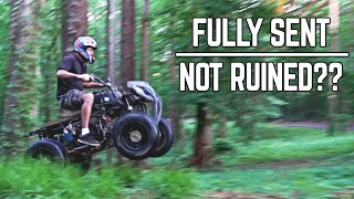"""Blown Up"" 420cc Return, Rebuild, + Rip! 