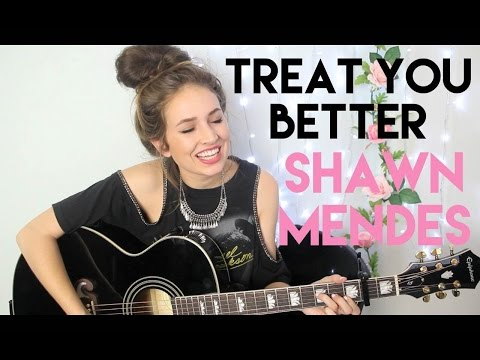 """Shawn Mendes """"Treat You Better"""" (Courtney Randall cover)"""