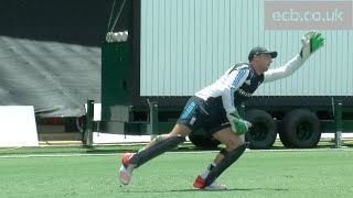 Wicket-keeper spotlight - Agility and catching with England's Jos Buttler