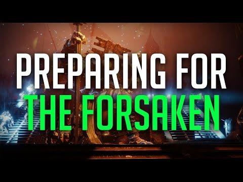Destiny 2: How To Prepare For The Forsaken DLC thumbnail