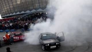 BMW E30 Drift in memoria lu' Micutzu (B 69 HAI 4 Tuning Days 2008)
