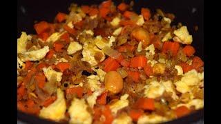 Eggy Aval Upma/Easy Aval Breakfast/Kids friendly/Red Rice Flakes Breakfast/Red Poha Breakfast