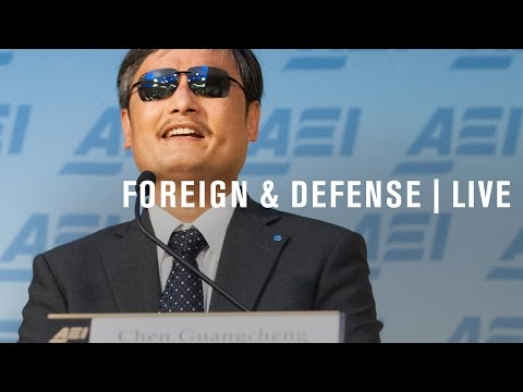 Chen Guangcheng: Human rights in China 25 years after Tiananmen Square