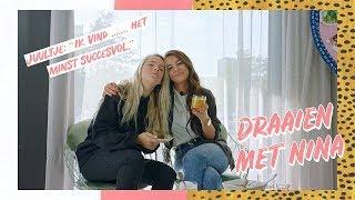 Welke influencer kotst JUULTJE TIELEMAN uit? || Draaien met Nina #6 || NINA WARINK