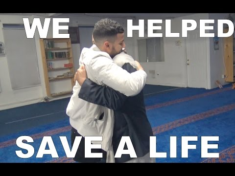 WE HELPED SAVE A LIFE.
