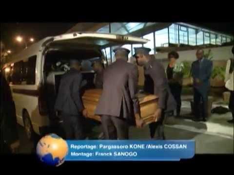 Culture : Arrivée à Abidjan de la dépouille mortelle de l'écrivain ivoirien Ahmadou Kourouma