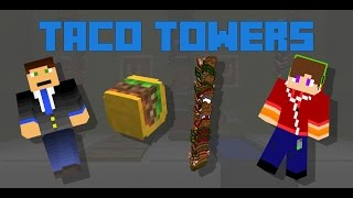 Minecraft - Tacos Towers in 2 commands