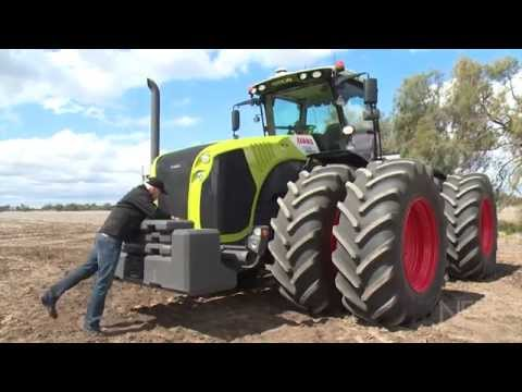 Claas Xerion 5000 tractor review | Farms & Farm Machinery