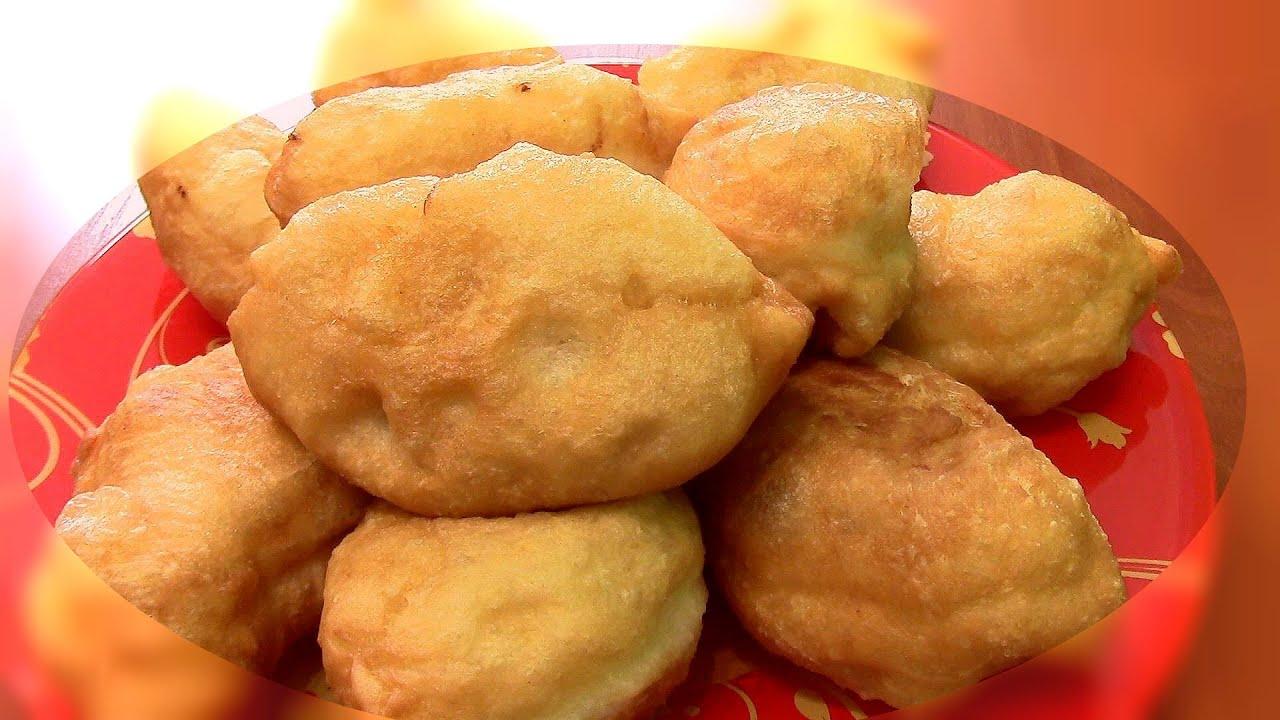 Жареные пирожки из дрожжевого теста с вареньем рецепт