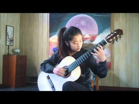 Preludio Americano no.3 - Campo ( Abel Carlevaro ) ---- Jennifer Kim ( 13 )
