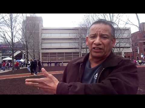 AIM's 2013 Protest Against Chief Wahoo Logo and Name, Opening Day: Interviews