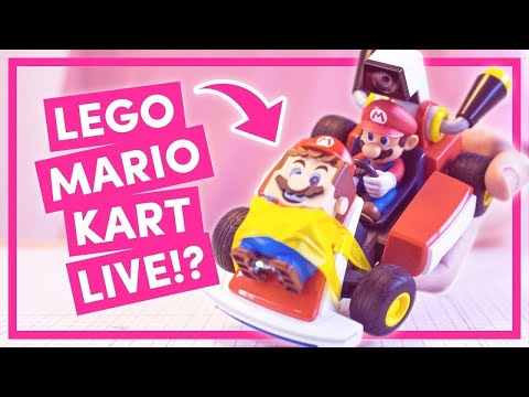 Can you combine LEGO Mario and Mario Kart Live TOGETHER?