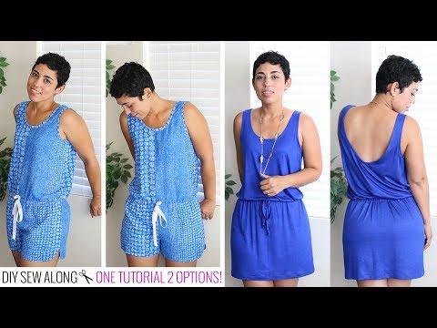 DIY Romper & Dress Sew-Along w/ Mimi G