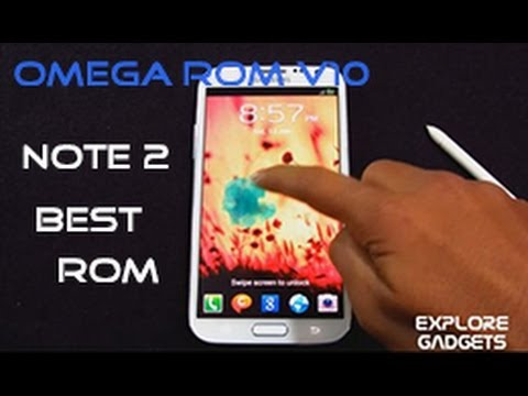 Galaxy Note 2 GT-N7100 - Omega Rom V10 : Review (BEST ROM)