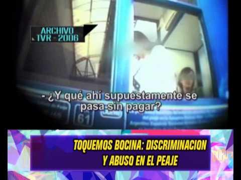 DISCRIMINACION EN EL PEAJE - 28-04-14
