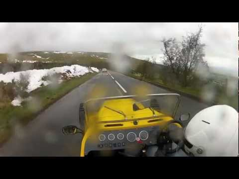 Kit car wheel falls off while driving - Go Pro HD Hero 2