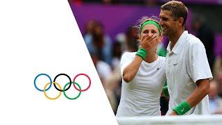 Azarenka & Mirnyi Defeat Robson & Murray - Tennis Mixed Doubles Final | London 2012 Olympics