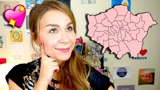 My top 3 areas to live in London! #ad