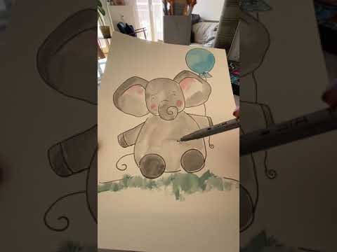 Emil der Quarantäne-Elefant