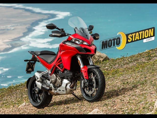 Vid�o Essai Ducati Multistrada (S) 1200 DVT 2015 : Le trail multi-technologie