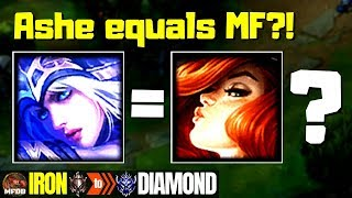 Ashe but she builds like Miss Fortune - Iron to Diamond Episode #9 (Season 9)