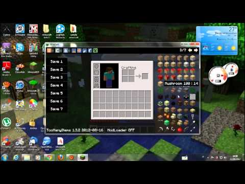 Come scaricare Too Many Items per minecraft 1.3.2