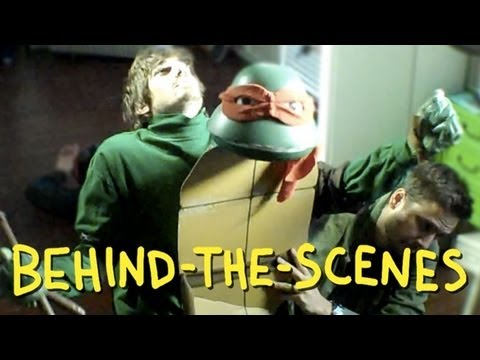 Teenage Mutant Ninja Turtles 1990 Trailer - Homemade TMNT (Behind The Scenes)