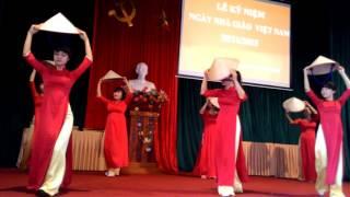 Cô nuôi dạy trẻ - Mầm non Đồng Quang