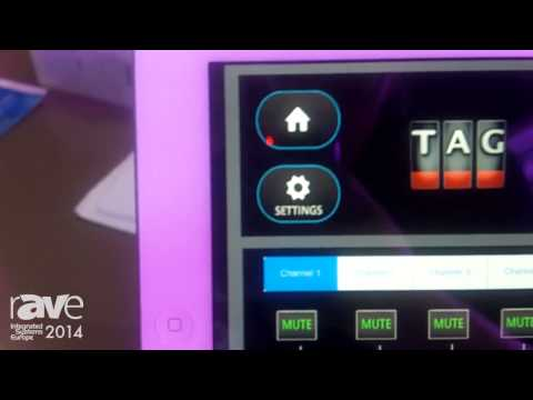 ISE 2014: TAG Presents Control System for iPad or Tablet