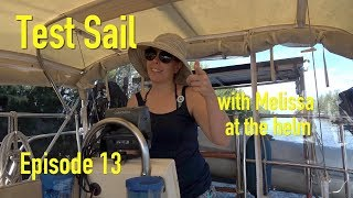 sailing lesson on the water with sailor Tom - The Boat Life adventure travel vlog Ep 13 Season 1