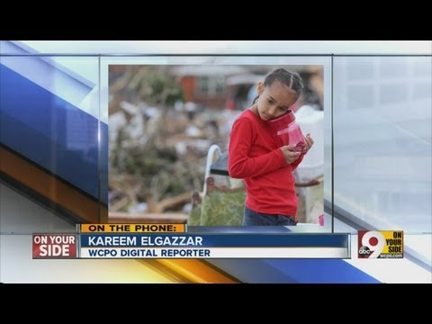WCPO digital reporter Kareem Elgazzar talks about damage in OK