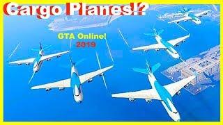 Cargo Planes & Fan Displays!! - GTA Online (2019)