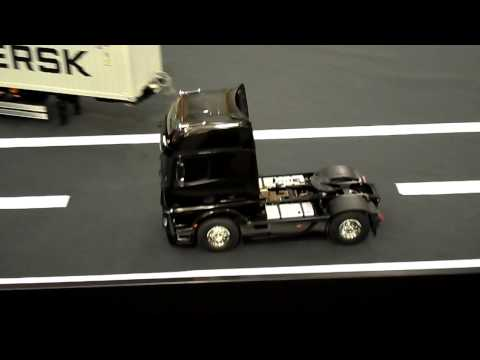 New Tamiya Mercedes Benz Actros 1851 GigaSpace Truck presented at Nuremberg Toy Fair 2013