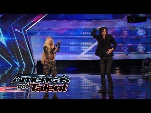 America's Got Talent 2014: Stylish Talent- Professional Twerker Kills It