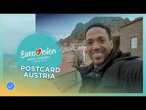 Postcard of Cesár Sampson from Austria - Eurovision 2018