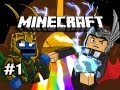 Minecraft: Asgard Adventures w/Nova & Kootra Ep.1 - A COLORFUL NEW WORLD