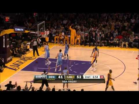 [HD] Jodie Meeks 21 Points (7 Three-Pointers) vs Denver Nuggets - Highlights 30/11/2012