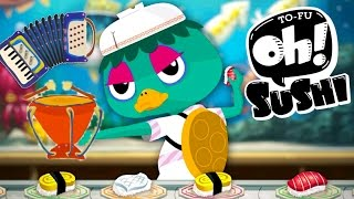 Sushi Master & Musical Instruments for Kids| Fun Kitchen Kids Games & Fun Cooking Games for Children