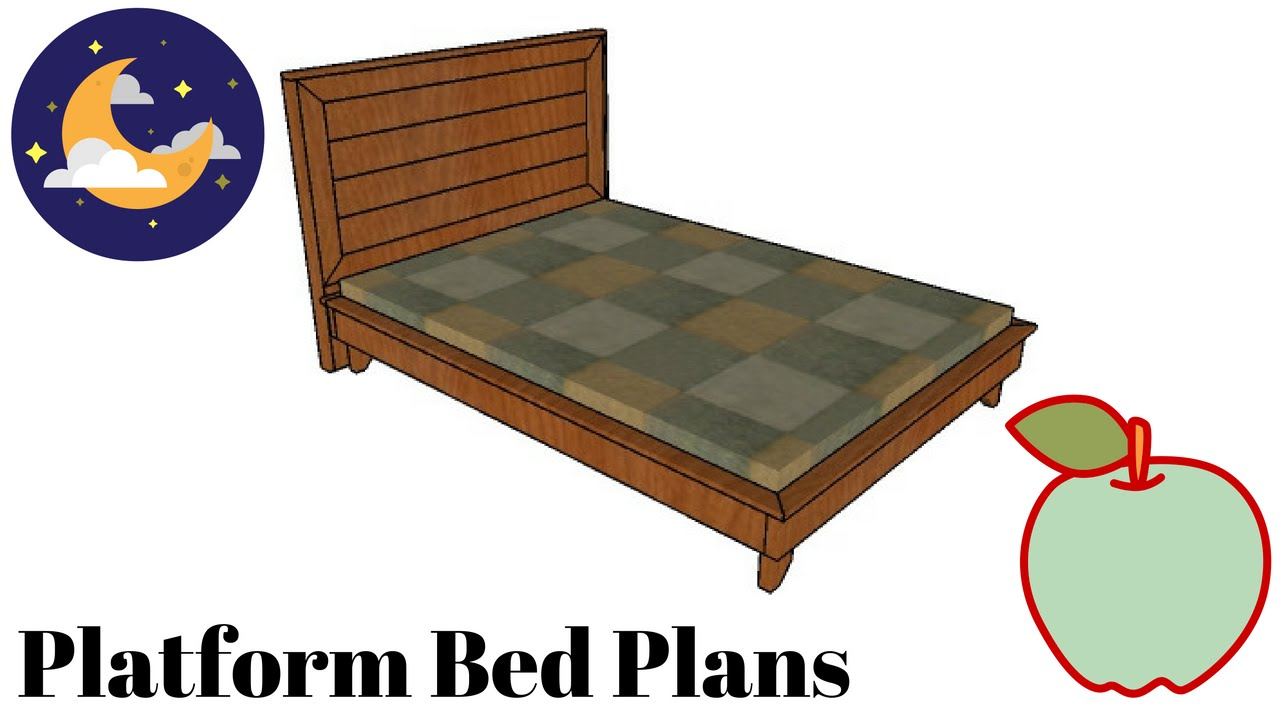 how to build a platform bed frame instructions | Quick ...
