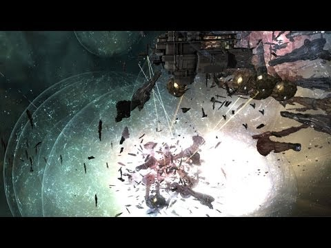 Huge Eve Online Space Battle