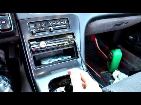 Nissan 240sx S13 Auto to Manual Swap (5 speed swap)