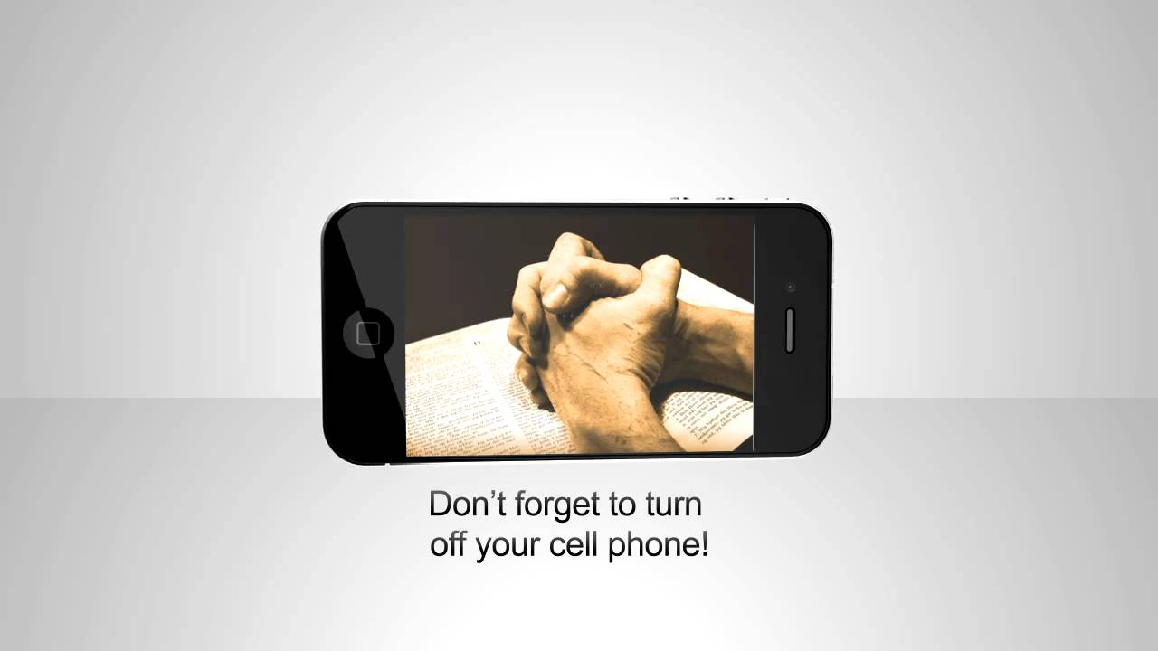 turn off your cell phone